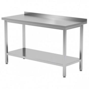 Stół przyścienny z półką...