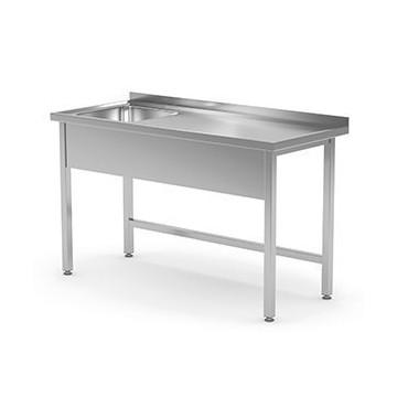Stół ze zlewem bez półki...