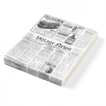Papier pergaminowy nadruk gazety 250x350