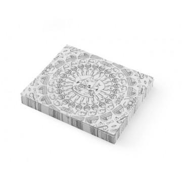 Papier pergaminowy (500 arkuszy), nadruk, 250x200