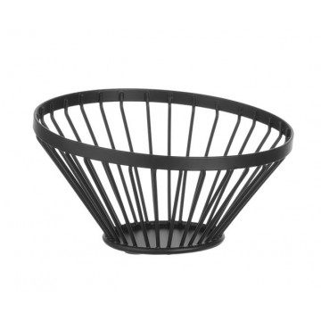Koszyk do owoców czarny, wys. 80 mm
