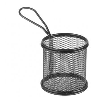 Koszyk miniaturowy do smażonych przekąsek 90x90x90