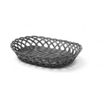 Koszyk pleciony, owalny, 320x230 mm