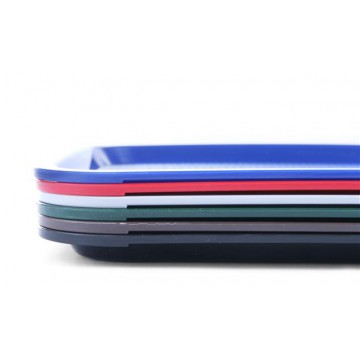 Taca z polipropylenu - FAST FOOD 305x415 mm niebieska