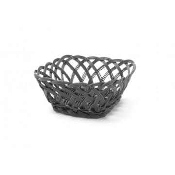 Koszyk pleciony, kwadratowy, 190x190 mm