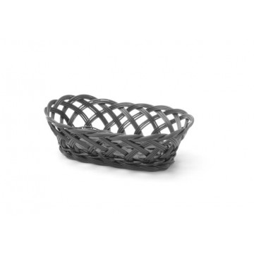 Koszyk pleciony, owalny, 225x130 mm