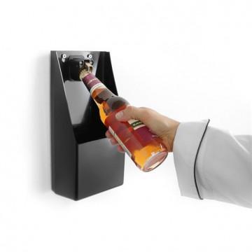 Otwieracz do butelek z pojemnikiem na kapsle