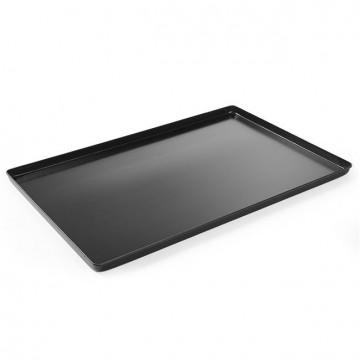 Taca cukiernicza ekspozycyjna - czarna 600x400x(H)20