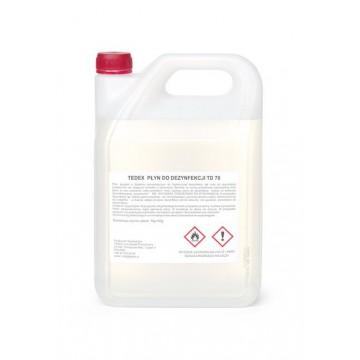 Tedex płyn do dezynfekcji TD 70 5L