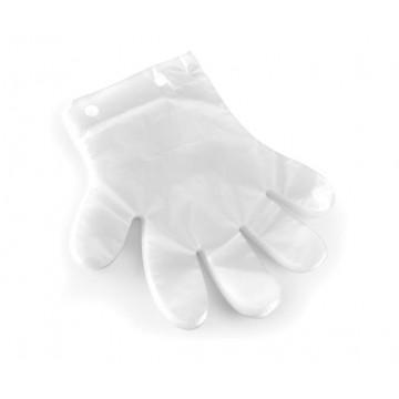 Rękawiczka foliowa jednorazowa, przezroczysta - zestaw 100 szt.