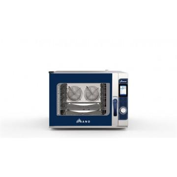 Piec konwekcyjno - parowy Nano Max 5 x GN 1/1 z ekranem dotykowym, systemem myjącym i sondą