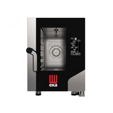 Piec konwekcyjno - parowy Black Mask COMPACT 6 x GN 2/3 elektryczny z bezpośrednim natryskiem