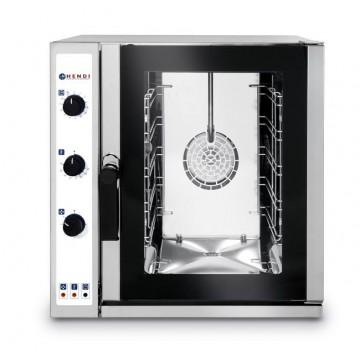 Piec konwekcyjny z zaparowaniem 5xGN2/3, elektryczny, sterowanie manualne