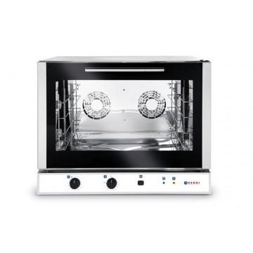 Piec piekarniczy, konwekcyjny z nawilżaniem 4 x600x400 mm - elektryczny, sterowanie manualne, jednofazowy