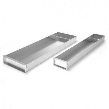 Blacha aluminiowa cukiernicza - zamykana  580x100x(H)50