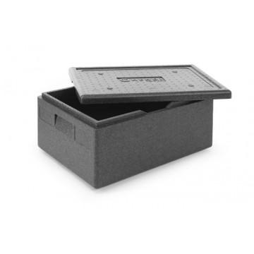 Pojemnik termoizolacyjny z piocelanu, o wym. 625x425x200 mm 53L