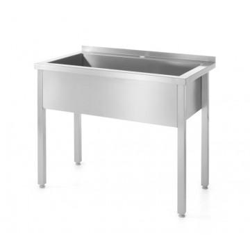 Stół z basenem jednokomorowym - spawany