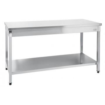 Stół roboczy centralny z półką 1400