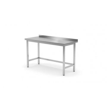 Stół roboczy przyścienny - skręcany z rantem, o wym. 1200x700x850 mm
