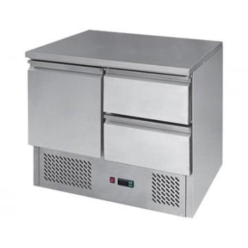 STZ 902 Stół chłodniczy  - drzwi i 2 szuflady