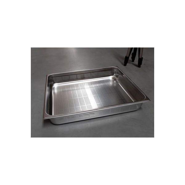 GND - 2/1-100 Pojemnik gastronomiczny GN 2/1 perforowany