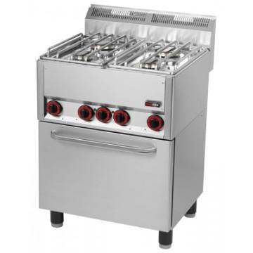 SPT 90/5 GL Kuchnia gazowa z piekarnikiem elektrycznym