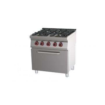 SPT 70/80 11 GE Kuchnia gazowa z piekarnikiem elektrycznym