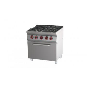 SPBT 70/80 21 G Kuchnia gazowa z piekarnikiem