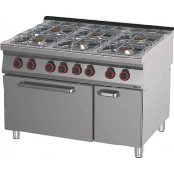 SPT 90/120 - 21 GE Kuchnia gazowa z piekarnikiem elektrycznym