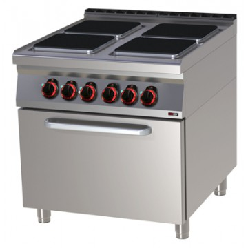 SPQT 90/80 - 11 E Kuchnia elektryczna z piekarnikiem