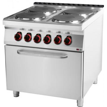 SPT 90/80 - 21 E Kuchnia elektryczna z piekarnikiem