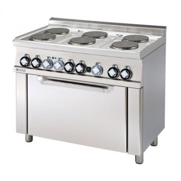 CFM6 - 610 ET Kuchnia elektryczna zpiekarnikiem