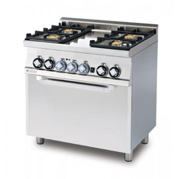 CFM4 - 68 GEM Kuchnia gazowa zpiekarnikiem elektrycznym