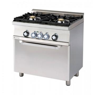 CFM2-68 GEM WOK Kuchnia gazowa WOK  z piekarnikiem elektrycznym
