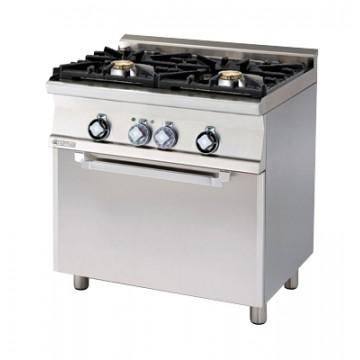CF2 - 68 GEM WOK Kuchnia gazowa WOK  z piekarnikiem elektrycznym