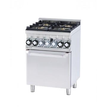 CFM4 - 66 GEM Kuchnia gazowa zpiekarnikiem elektrycznym
