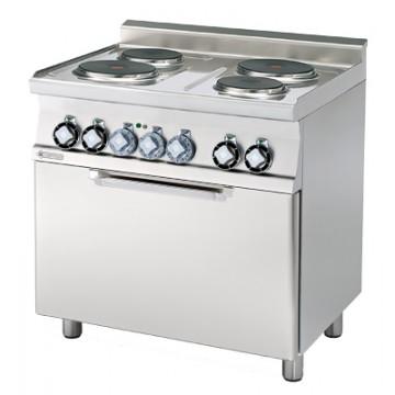CF6 - 610 ET  Kuchnia elektryczna zpiekarnikiem