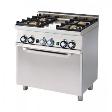 CF4 - 68 GEM Kuchnia gazowa zpiekarnikiem elektrycznym