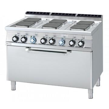 CFQ6 - 712 ET Kuchnia elektryczna zpiekarnikiem