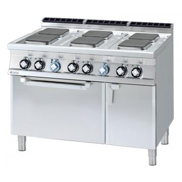 CFQ6 - 712 ETV Kuchnia elektryczna zpiekarnikiem