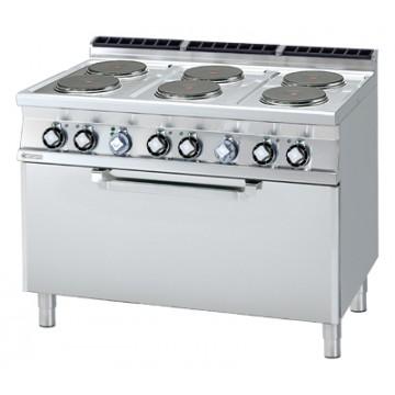 CF6 - 712 ET  Kuchnia elektryczna zpiekarnikiem