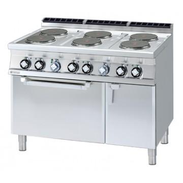CF6 - 712 ETV Kuchnia elektryczna zpiekarnikiem