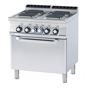 CFQ4 - 78 ET Kuchnia elektryczna zpiekarnikiem