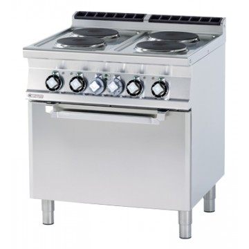 CFV4 - 78 ET Kuchnia elektryczna zpiekarnikiem