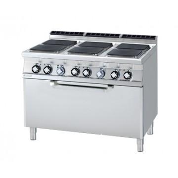 CFQ6 - 912 ET Kuchnia elektryczna zpiekarnikiem