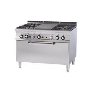 TPF4 - 912 G Kuchnia żeliwna zpiekarnikiem