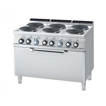 CF6 - 912 ET Kuchnia elektryczna zpiekarnikiem