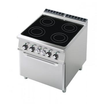 CFVC4 - 98 ET Kuchnia elektryczna ceramiczna zpiekarnikiem