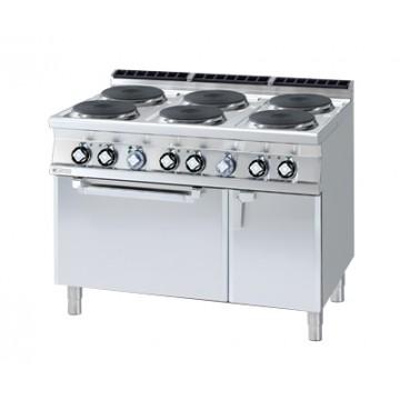 CF6 - 912 ETV Kuchnia elektryczna zpiekarnikiem