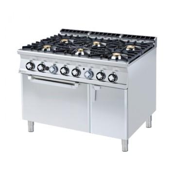 CF6 - 912 GV Kuchnia gazowa zpiekarnikiem